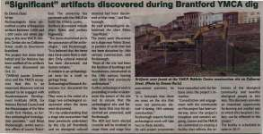 """""""'Significant' artifacts discovered during Brantford YMCA dig"""""""