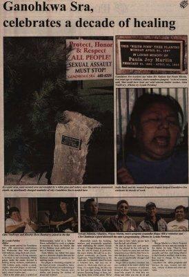 """Ganohkwa Sra celebrates a decade of healing"""