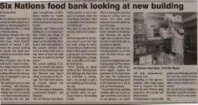 """Six Nations food bank looking at new building"""