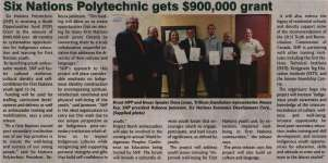 """""""Six Nations Polytechnic gets $900,000 grant"""""""