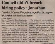 """""""Council didn't breach hiring policy: Jonathan"""""""