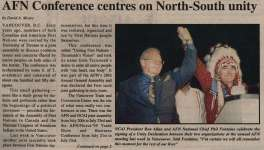 """""""AFN Conference centres on North-South unity"""""""