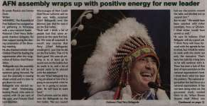 """""""AFN assembly wraps up with positive energy for new leader"""""""