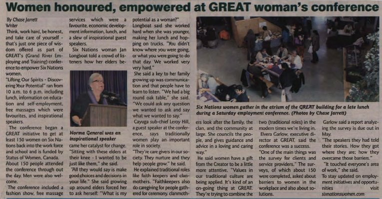 """Woman honoured, empowered at GREAT woman's conference"""