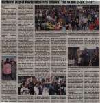 """""""National Day of Resistance hits Ottawa, """"no to Bill C-33, C-10"""""""