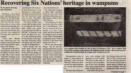 """""""Recovering Six Nations' heritage in wampums"""""""
