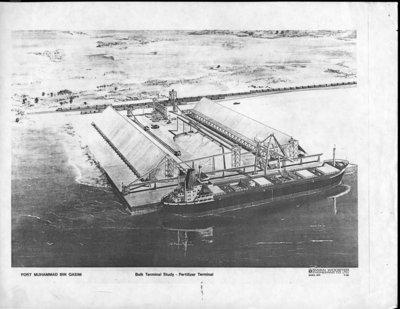 Sketch of Port Muhammed Bin Qasim Bulk Terminal Study - Fertilizer Terminal