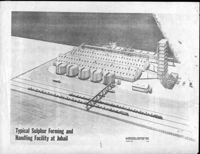 Sketch of Typical Sulphur Forming and Handling Facility at Jubail
