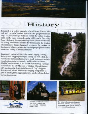 Squamish Chamber of Commerce - Squamish History