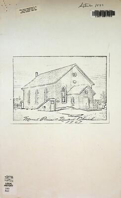 Mount Pleasant United Church, 1967
