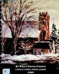 St. Paul's United Church, Church Family Photo Album 1989