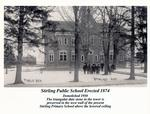 Photograph of Stirling Public School prior to 1950, Stirling, ON