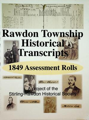 Rawdon Township Historical Transcripts: 1849 Assessment Rolls