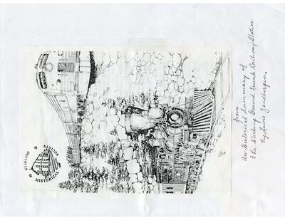 Stirling Railroad Station Scrapbook