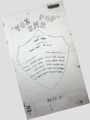 Vox Pop S.H.S, 1938-39