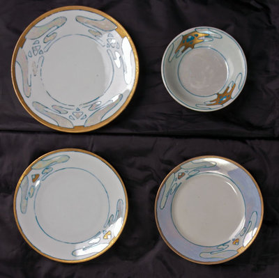 Hand-painted China Plates