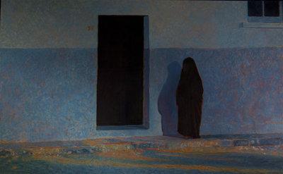 Algerian Woman, Back Door