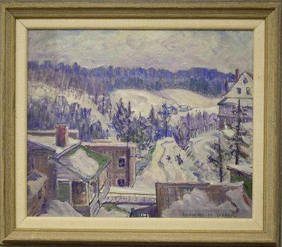 From Window, Burke's Falls