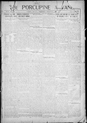 Porcupine Advance, 5 Jan 1921