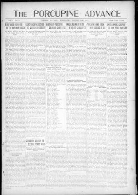 Porcupine Advance, 19 Jan 1921