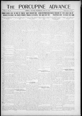 Porcupine Advance, 4 May 1921