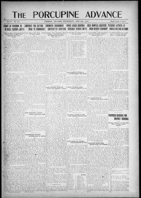 Porcupine Advance, 15 Jun 1921