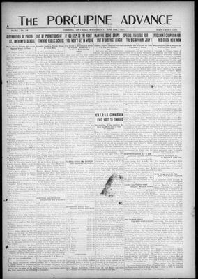 Porcupine Advance, 29 Jun 1921