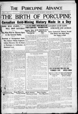 Porcupine Advance, 28 Mar 1912