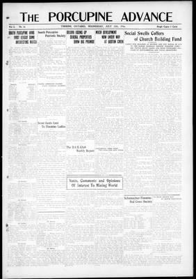 Porcupine Advance, 12 Jul 1916