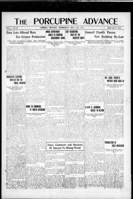 Porcupine Advance, 23 May 1917