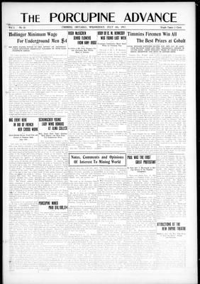 Porcupine Advance, 4 Jul 1917