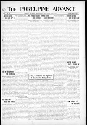 Porcupine Advance, 12 Sep 1917