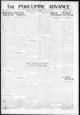 Porcupine Advance, 17 Jul 1918