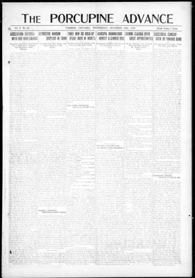 Porcupine Advance, 24 Dec 1919