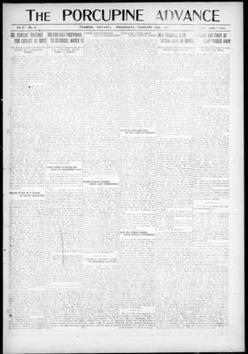 Porcupine Advance, 25 Feb 1920