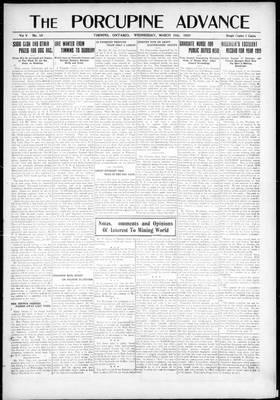 Porcupine Advance, 10 Mar 1920