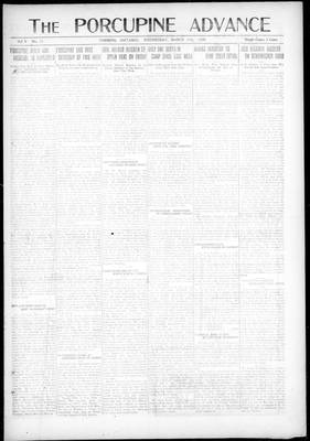 Porcupine Advance, 17 Mar 1920