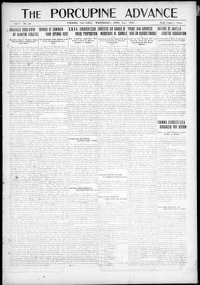Porcupine Advance, 21 Apr 1920