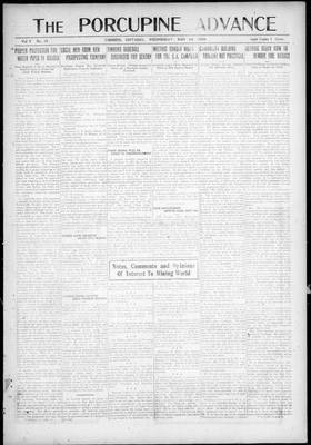 Porcupine Advance, 12 May 1920