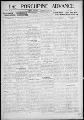 Porcupine Advance, 19 May 1920
