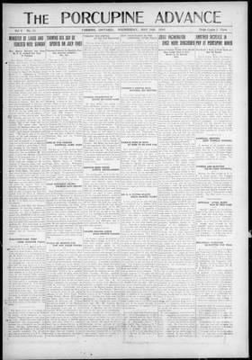 Porcupine Advance, 26 May 1920