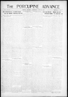Porcupine Advance, 2 Jun 1920