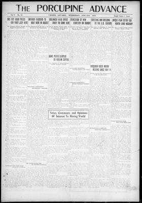 Porcupine Advance, 23 Jun 1920