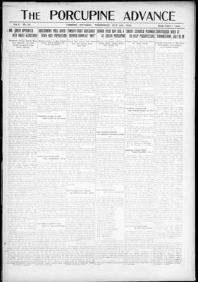 Porcupine Advance, 14 Jul 1920
