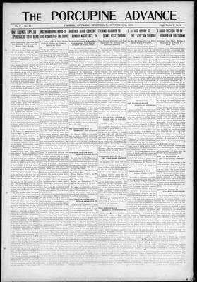 Porcupine Advance, 13 Oct 1920