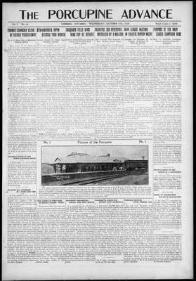 Porcupine Advance, 20 Oct 1920