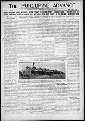 Porcupine Advance, 27 Oct 1920