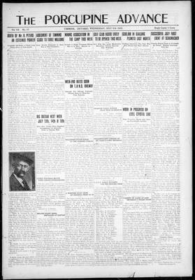 Porcupine Advance, 5 Jul 1922