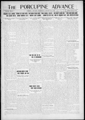 Porcupine Advance, 10 Jan 1923