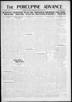Porcupine Advance, 23 Jan 1924